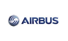 Logo société Airbus