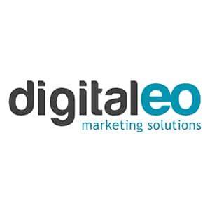 Logo de l'entreprise digital EO spécialisé dans les solutions marketing