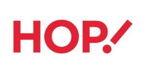 Logo compagnie aérienne Hop!